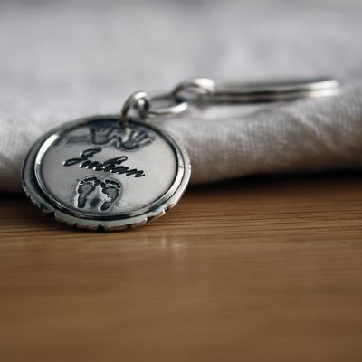 Birth Round Insignia ~ Large Key Fob