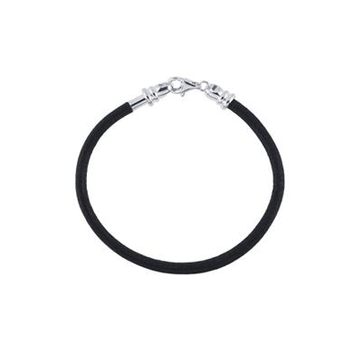Leather Cord Charm Bracelet