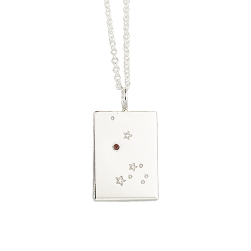 Stars and Stones {a constellation birthstone necklace}