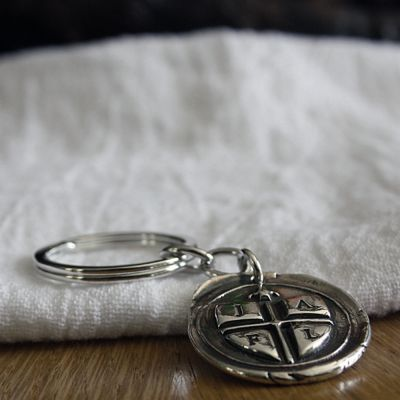 Shield Insignia Key Fob