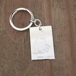 Kids Artwork Key Fob