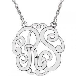 Monogram Necklace ~ Two Letter